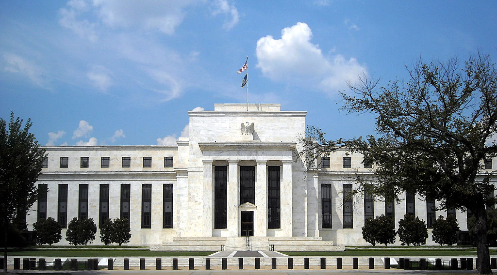 <i> Federal Reserve Board Building, Washington D.C., Image Source: <a href='https://commons.wikimedia.org/wiki/File:Marriner_S._Eccles_Federal_Reserve_Board_Building.jpg'>Wiki Commons</a></i>