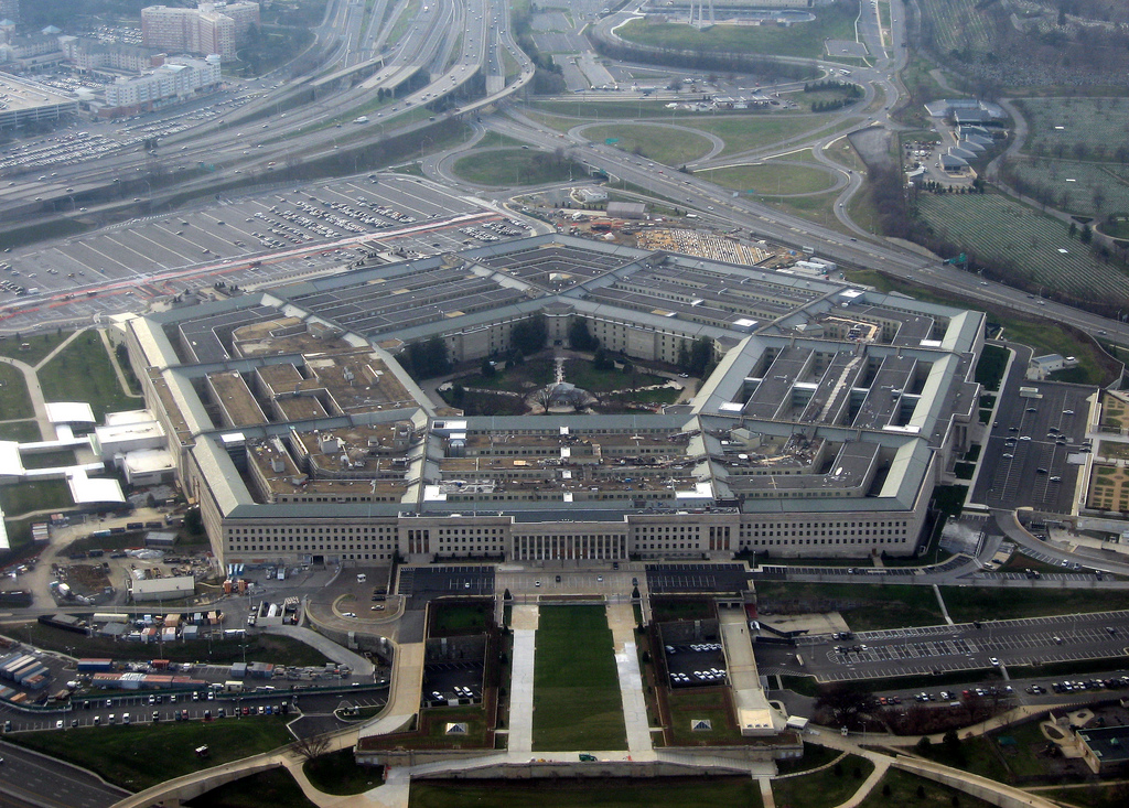 <i>The Pentagon, Image Source: <a href='https://www.flickr.com/photos/mindfrieze/2196640900'>Flickr</a></i>