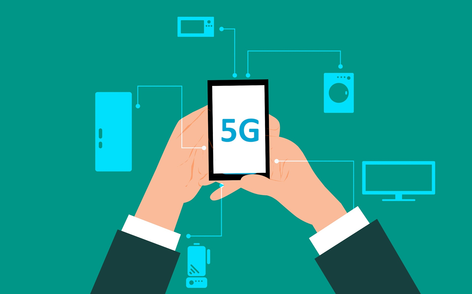 <i>5g, Image Source: <a href='https://pixabay.com/en/accessibility-browsing-5g-business-3570138/'>Pixabay</a></i>