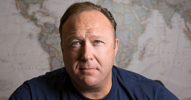 <i>Infowars Founder Alex Jones, Image Source: <a href='http://www.infowars.com'>Infowars</a></i>